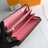 갈색 격자 무늬 / 핑크 안쪽