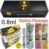 0.8ml com pacote waferz
