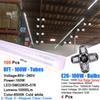 100PCS 100W 8FT LED TUBE+ 4PCS 100W BULB