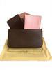 Классический цветок + розовая карта сумки