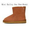 Mini Bailey One Bow - Khaki