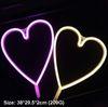 القلب أ - وردي