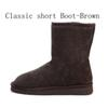 Classic Boot-Brown Brown