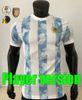 Chemise à la maison de joueur + patch