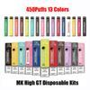 MK High GT 450Puffs colori misti