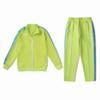 잔디 녹색 양복