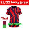 21 22 Away Women Patch