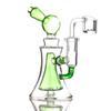 Zielony z bangeriem kwarcowym