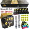 0.8ml Carts With Gold Packaging