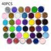 40 zestawów kolorów.
