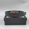 G2 # Hebilla de oro negro 3.0cm
