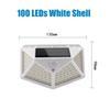 100 LED 화이트 셸