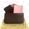 # 1 klassisch braun + pink