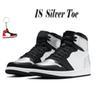 1s 5-12 Silver Toe