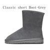 Classic Breve Boot-Grey
