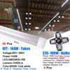 96PCS 144W 8FT LED TUBE+ 4PCS 100W BULB