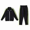 검은 녹색 양복