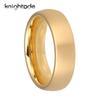 6mm Gold Tungsten