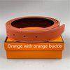 Pulsante arancione + banda arancione