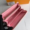 흰색 격자 무늬 / 핑크 내부