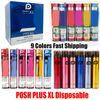 Posh Plus XL colores mezclados