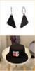 Black Hat + orecchini una coppia 1