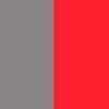 Gris + rouge
