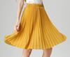Gelbe Frauen Röcke