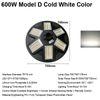 600W Model D Cold White Color