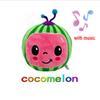 Wassermelone mit Musik.
