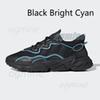 4 Black Bright cyan