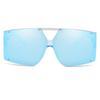 C5Clear Mavi Çerçeve Mavi Ayna