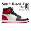 D18 36-46 Cetim Black Toe