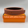 Pulsante giallo + banda gialla