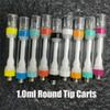 1.0ml Round Tip Mixed Colors