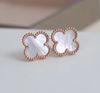 Rose Gold + Branco (Brincos)
