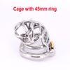 Gabbia con anello da 45 mm