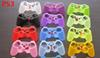 Colorful gamepad Soft Silicone Gel Rubber Case Skin Grip Cover For Xbox One Xbox 360 PS3 PS4 Wireless Controller Free Shipping
