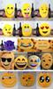 2015 new soft Cushion cute lovely Emoji smiley pillow expression cartoon facialcreative pillows round stuffed plush toy gift for kids