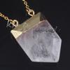 Felsen-Quarz-Kristall