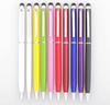 2 In 1 Capacitive Touch Screen Writing Stylus Ball Point Pen For iPhone iPad Samsung Galaxy Tab ASUS ACER Tablet PC HTC Lenovo Cell Phone