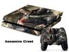 Assassins Creed LOGO DECAL SKIN PROTECTIVE STICKER for PS4 CONSOLE CONTROLLER