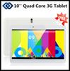 10 inch 3G Tablet PC with dual sim card slot Phone Call GPS Android 4.2 Dual Core 1GB RAM 8GB 16GB ROM Bluetooth Dual Camera