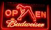 LS019-r Budweiser Exotic Dancer Stripper Bar Light Signs Decor Free Shipping Dropshipping Wholesale 8 colors to choose