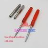 Wholesale-10sets 3.8mm + 4.5mm Security Screwdriver Tool Set For  NES SNES N64 Game Boy Cross Tri Screwdriver