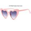 C6 rosa Rahmen graue Linse