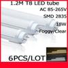New arrival CE ROHS FCC UL+4ft T8 Led Tube Light 18W 20W 22W Warm Cool White Super Bright Led Fluorescent Bulbs AC110-240V