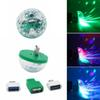 Edison2011 5V Mini USB Led Stage Light Music Control Light KTV DJ Disco Stage Effects Lamps Microphone Colorful Light