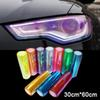 Free Shipping 30 * 60 cm Shiny Chameleon Auto Car Styling headlights Taillights Translucent film lights Car film Sticker