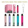 Sr. F Max Pro 2000 Puffs (Mix Co